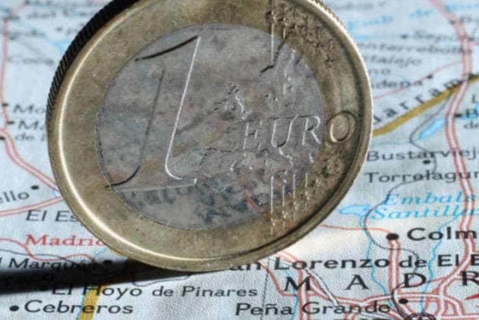 Dinheiro em Madri