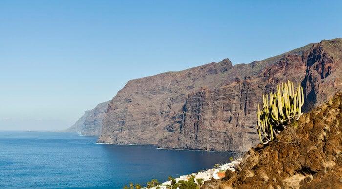 Los Gigantes em Tenerife