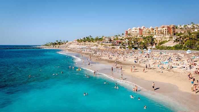 Playa El Duque em Tenerife