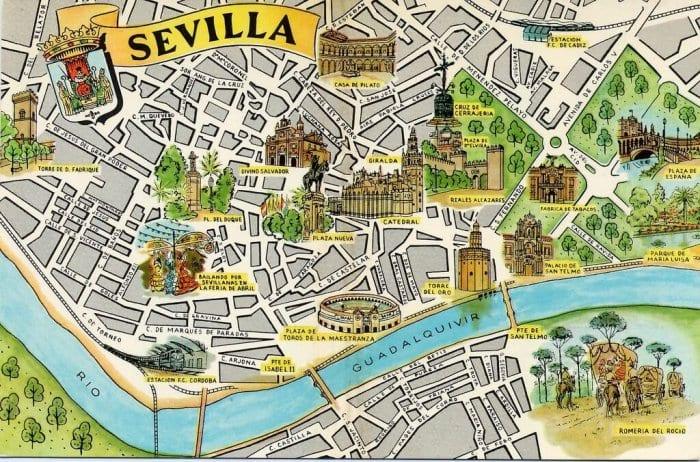 Mapa Turistico De Sevilha 2019 Dicas De Barcelona E Espanha