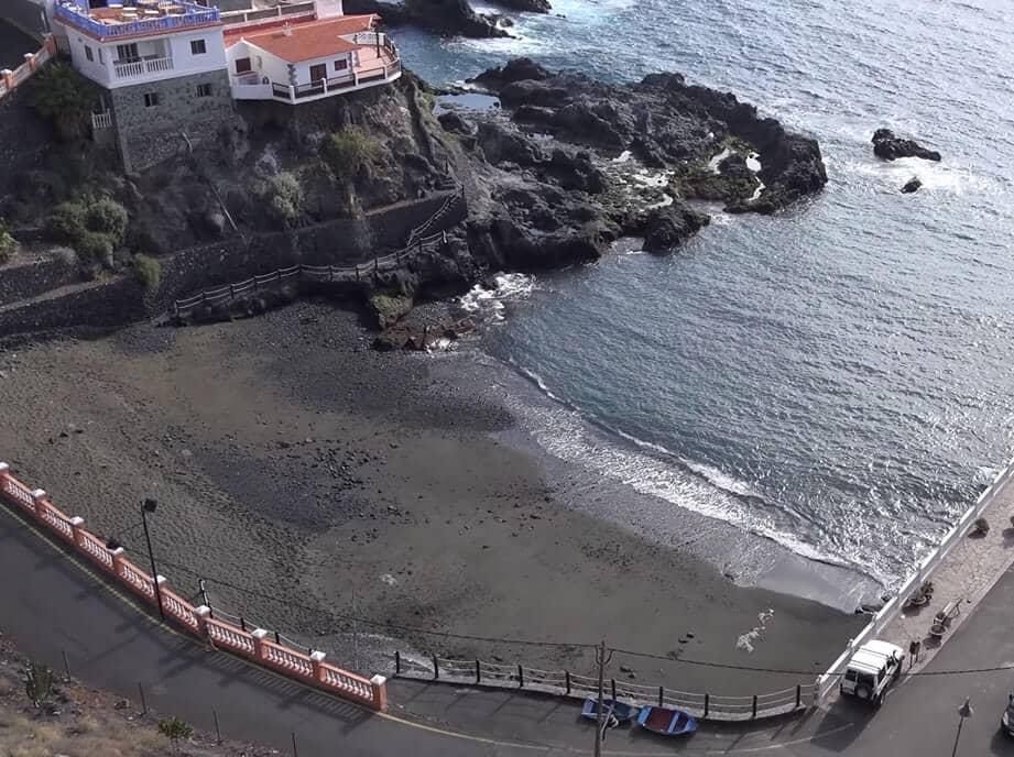 Vista da Praia Chica em Tenerife