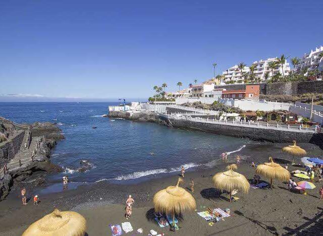 Praia Chica em Tenerife