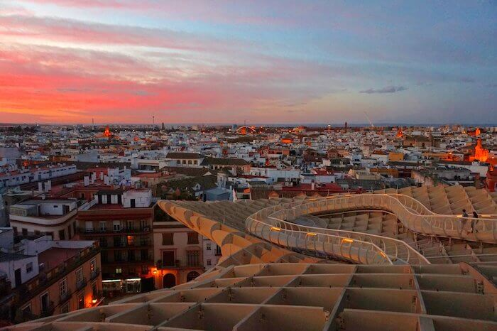 Vista de Sevilha