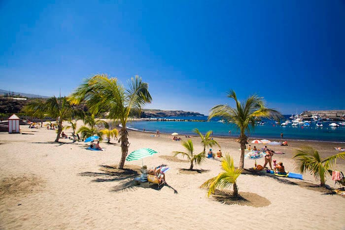 Praia El Duque em Tenerife