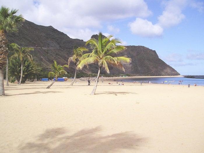 Praia Las Teresitas em Tenerife