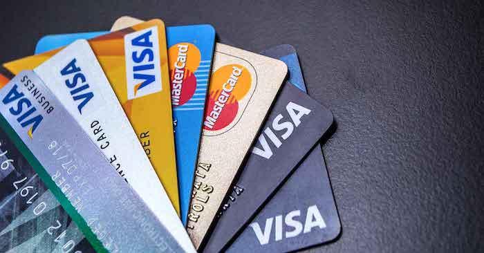Cartões de Crédito - Visa e MasterCard