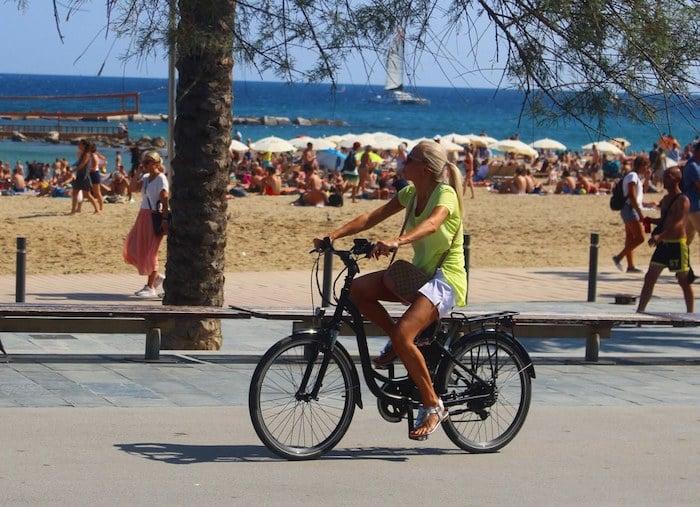 Passeio de bicicleta por Barcelona