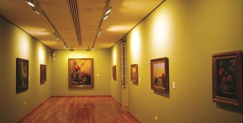 Interior do Museu Casa Natal de Picasso