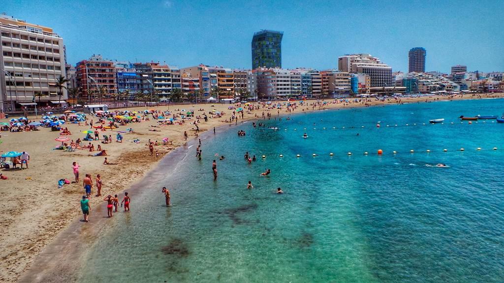 Las Canteras em Gran Canarias