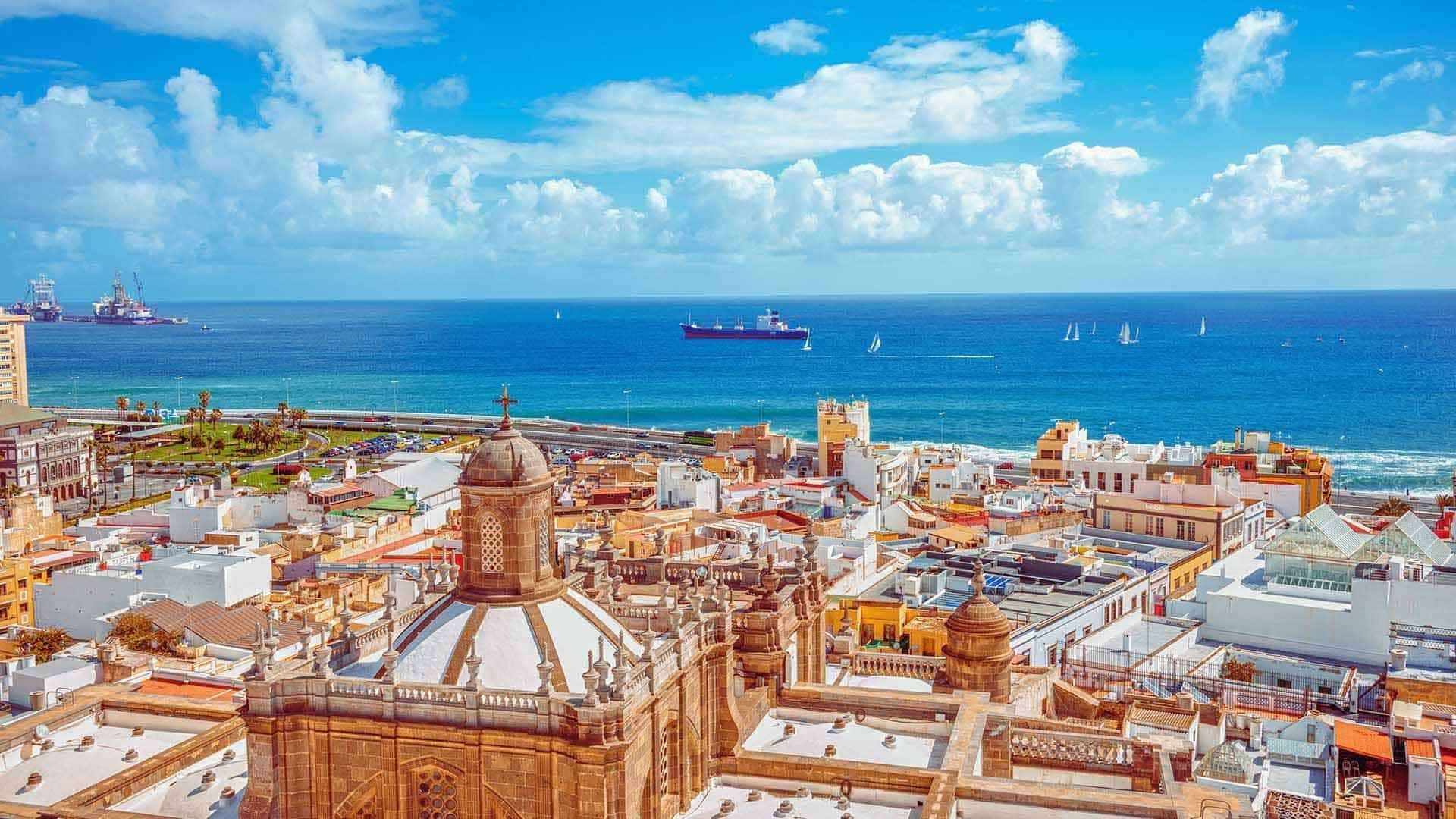 Las Palmas em Gran Canarias