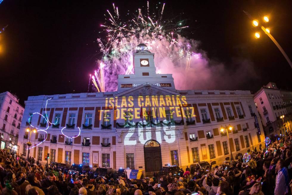 Ano novo em Madri