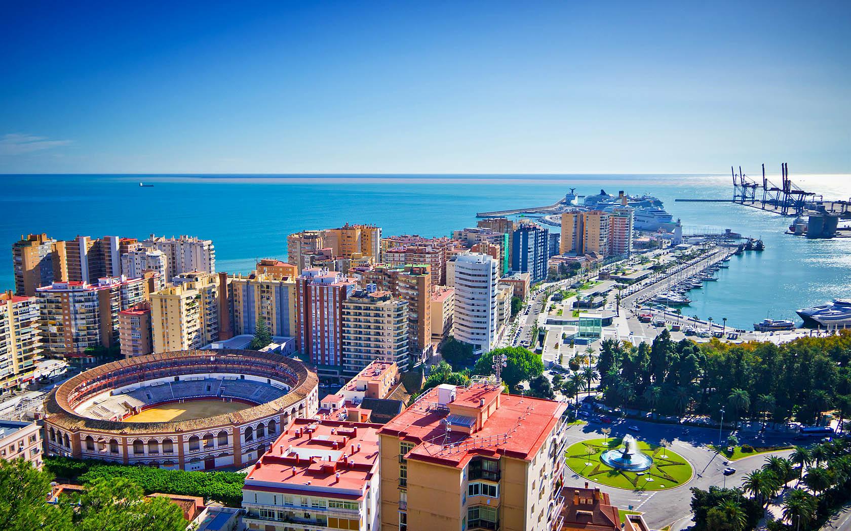 Paisagem de Málaga