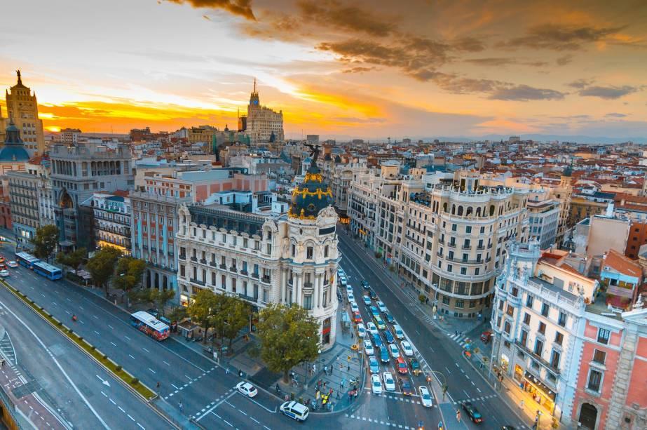 Remessas internacionais para Madri