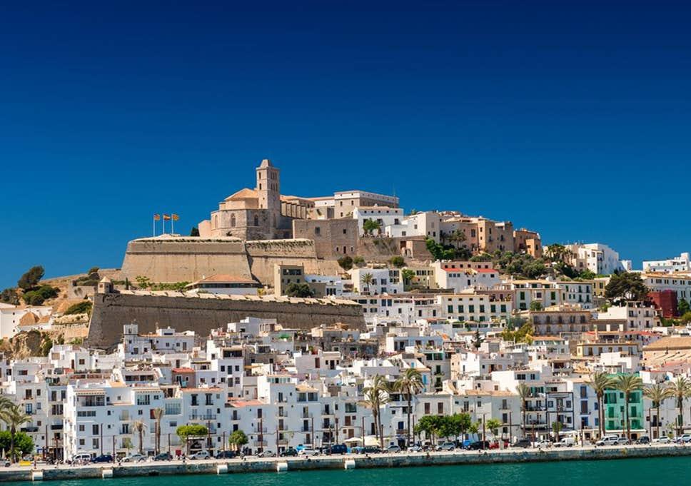 Vista de Ibiza