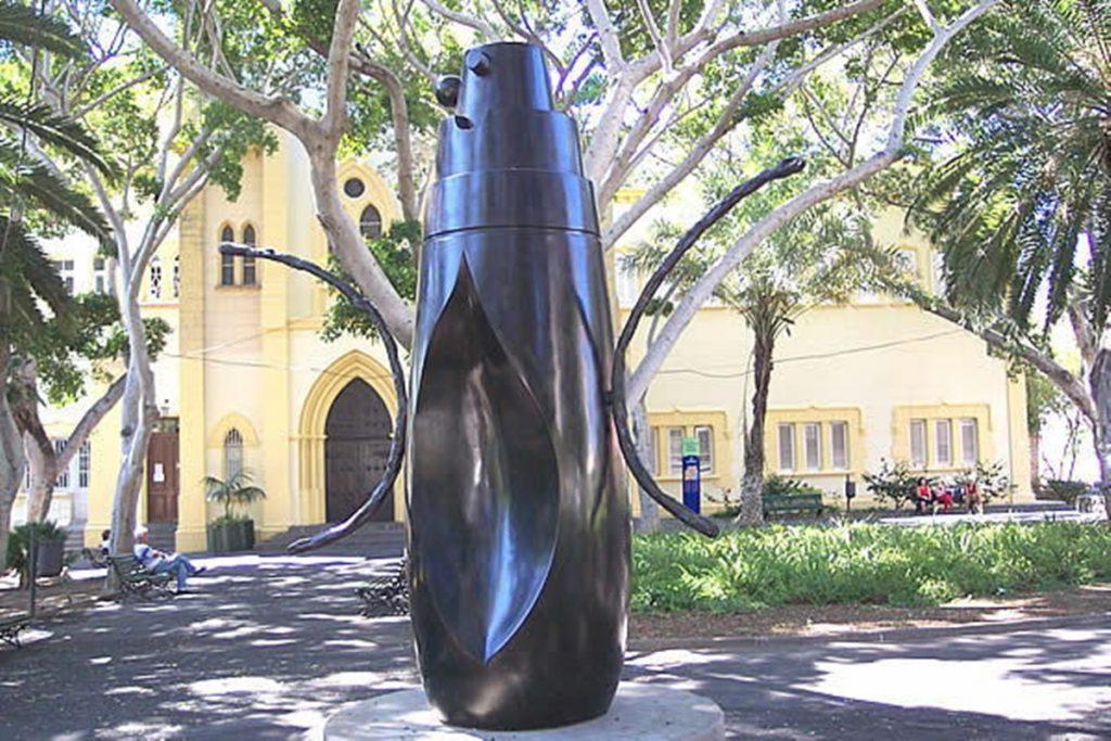 Obra de Miró em Santa Cruz de Tenerife