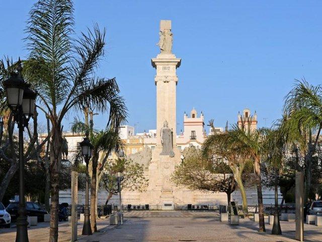 Plaza de España em Cádiz