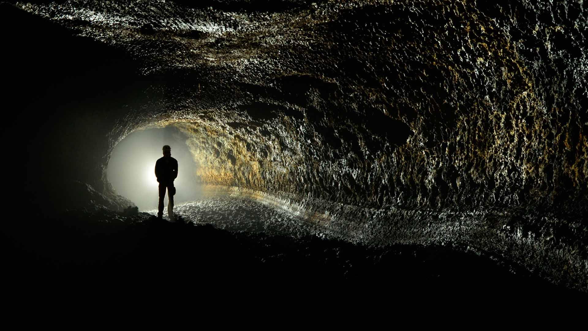 Caverna cueva del viento em Tenerife