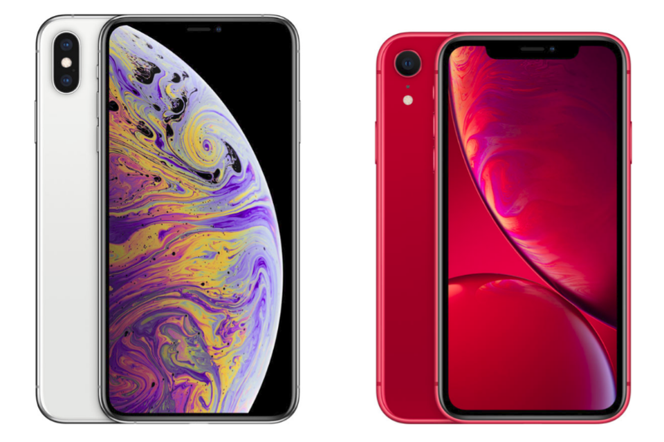 Iphone Xs Max e Iphone XR