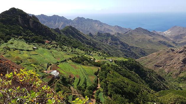 Vista das Montanhas de Anaga