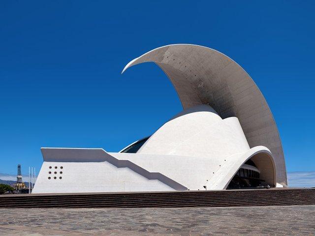 Vista do Auditório de Tenerife