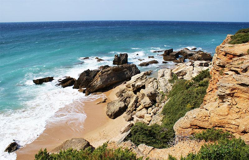 Melhores praias em Cádiz