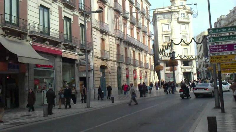 Vista da Calle Recogidas
